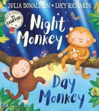 Kniha - Night Monkey, Day Monkey